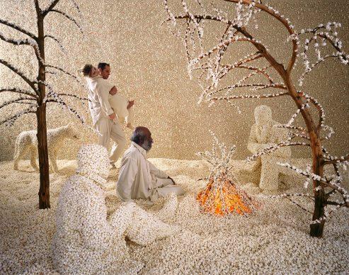 Sandy Skoglund, Raining Popcorn, 2001.  Collezione Privata/Private collection, Torino  Courtesy Paci contemporary gallery (Brescia – Porto Cervo, IT)