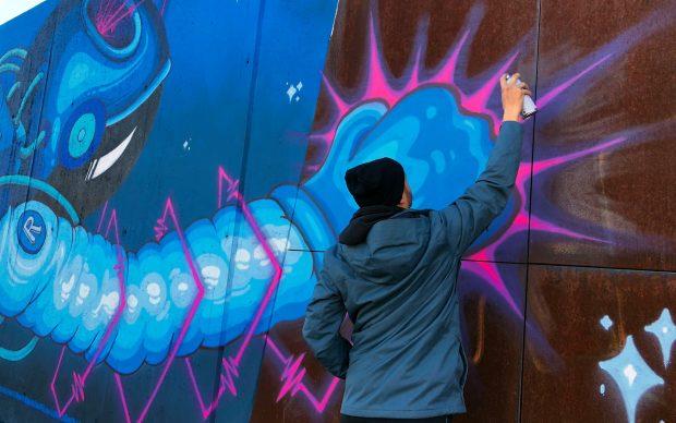 Rancy murale via Gallarate Milano SMART Street Colors