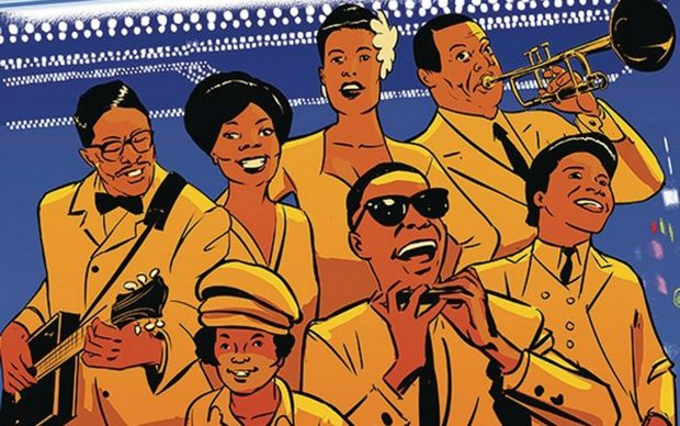 Showtime at the Apollo The Story of Harlem's World Famous Theater fumetto graphic novel