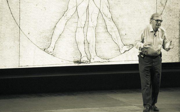 Vittorio Sgarbi Leonardo da Vinci teatro