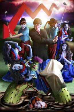 Rachel Maclean, The Massacre, 2013. Digital print on paper. Lent by Edinburgh Printmakers. Commissioned and published by Edinburgh Printmakers, 2013 © Rachel Maclean