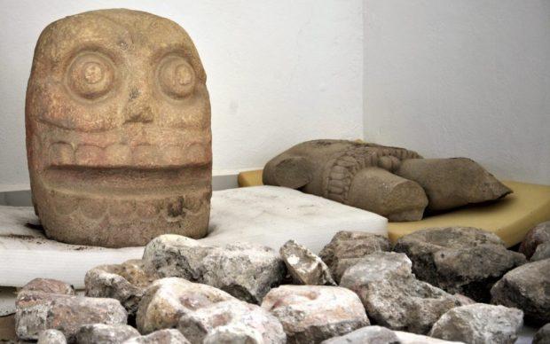 archeologia sculture tempio Messico dio Xipe Tótec
