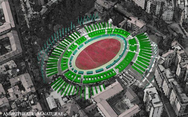 milano anfiteatro romano green