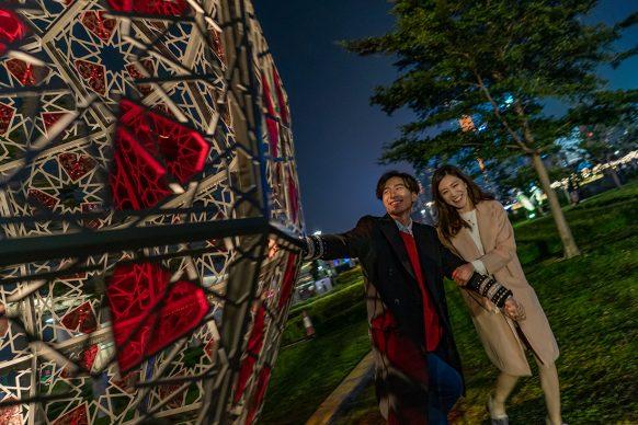 Hong Kong Pulse Light Festival, International Light Art Display