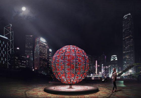 Geometry of Love, Hong Kong Pulse Light Festival, International Light Art Display