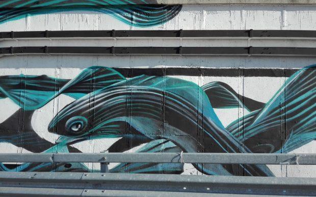 Pantonio, murale a Pescara, 2018