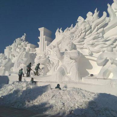 Harbin Ice and Snow Festival 2018 - Photo by Anastasia - nastenda, fonte Instagram
