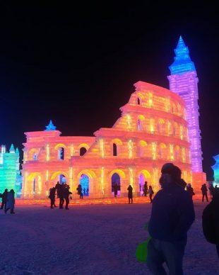 Harbin Ice and Snow Festival 2018 - Photo by  Jomin Lim - jominthehomie, fonte Instagram