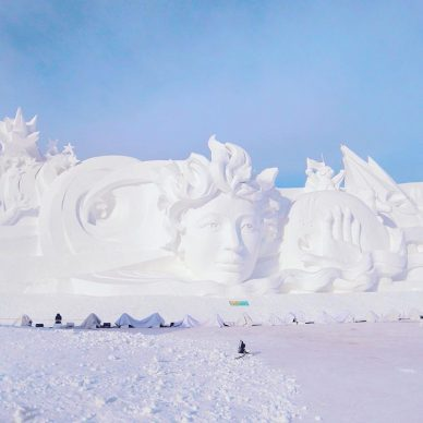 Harbin Ice and Snow Festival 2018 - Photo by lalita.huang, fonte Instagram