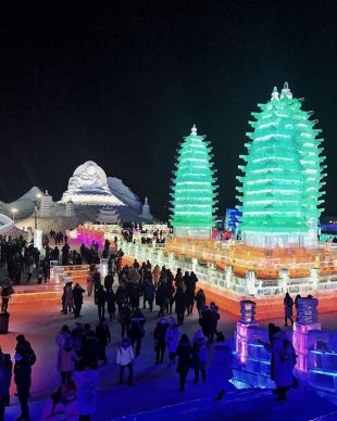 Harbin Ice and Snow Festival 2018 - Photo by  vickeebean, fonte Instagram