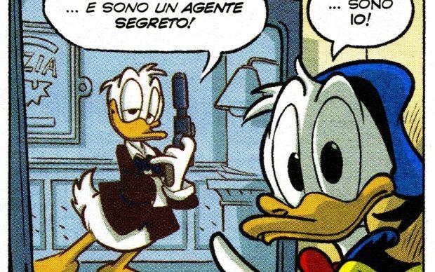 Doubleduck, testi Fausto Vitaliano e Marco Bosco, disegni Andrea Freccero