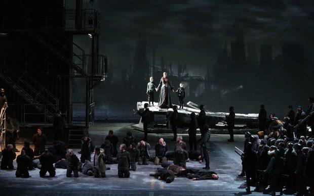 Chovanščina, di Modest Musorgskij, regia di Mario Martone, Teatro alla Scala, Milano, febbraio 2019. Photo by Brescia/Amisano