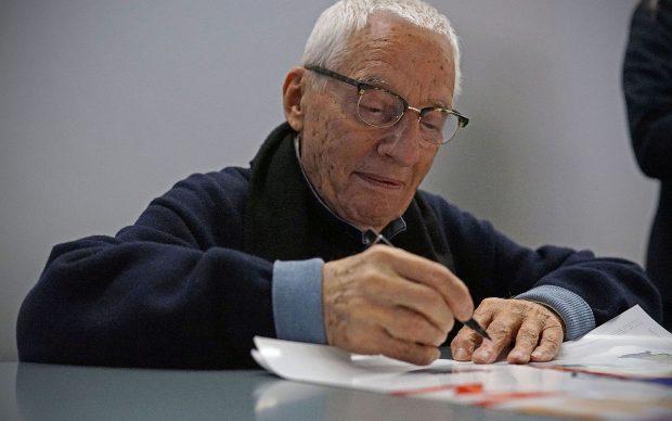 Alessandro Mendini, 2014, photo by L4red0 via Wikipedia