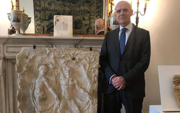 Ambasciatore italiano a Londra, Raffaele Trombetta