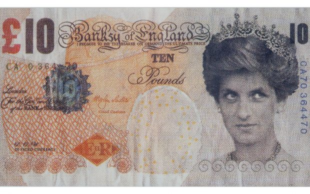 Banksy of England, Banconota 10 sterline