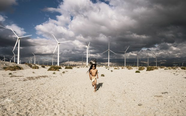 Cara Romero, dalla serie JACKRABBIT, COTTONTAIL &SPIRITS OF THE DESERT, fonte desertx.org