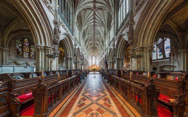 Coro della Cattedrale di Lichfield, photo by Diliff fonte Wikipedia