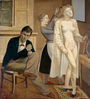 Balthus, La toilette de Cathy, 1933. Paris, Centre Pompidou - Musèe national d'art moderne - Centre de crèation industrielle, 1977-196 © Balthus, 2019