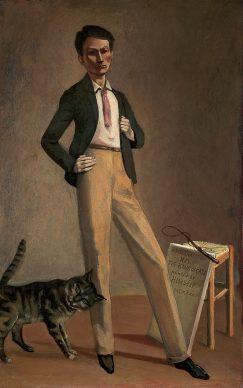 Balthus, El rey de los gatos, 1935. Musèe Cantonal des Beaux-Arts de Lausanne Donacìon  de la Fondation Balthus Klossowski de Rola, 2016 © Balthus, 2019