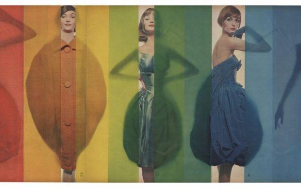 Erwin Blumenfeld, Rage for Color Look, 1958