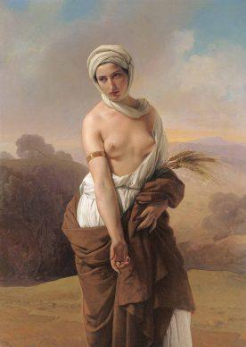 Mostra Ottocento. L'arte dell'Italia tra Hayez e Segantini - Francesco Hayez: Ruth