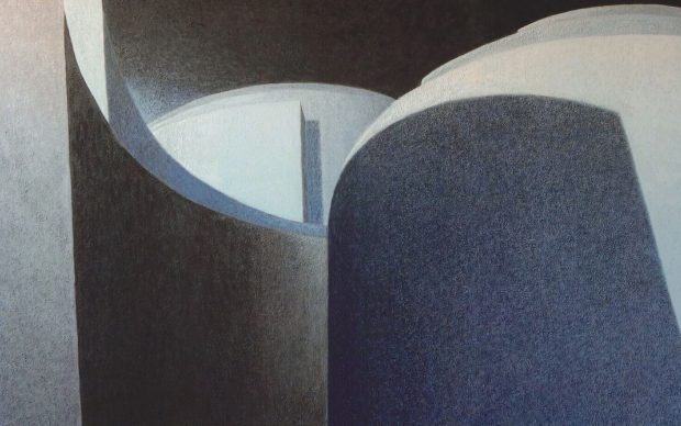 Giovanni Soccol, Labirinto di invenzione XVIII, 2016, Olio su tela, 150 X 200 cm