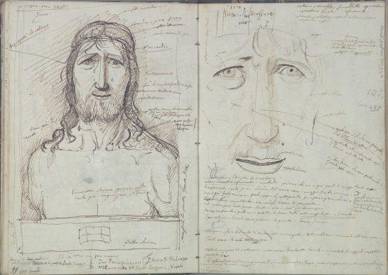 Giovan Battista Cavalcaselle, Ecce Homo, Metropolitan, da Antonello da Messina, Biblioteca Nazionale Marciana, Venezia
