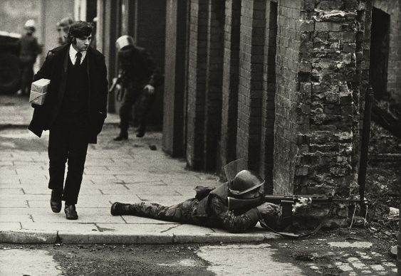 Don McCullin, Northern Ireland, Londonderry, 1971. All images courtesy of Don McCullin