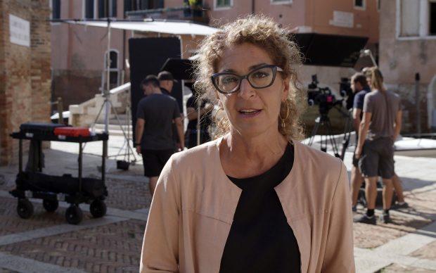 Melania Mazzucco ideatrice documentario Tintoretto Ribelle a Venezia