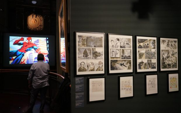 Museo del Cinema di Torino, veduta della mostra GULP! GOAL! CIAK!, photo by M. D'Ottavio