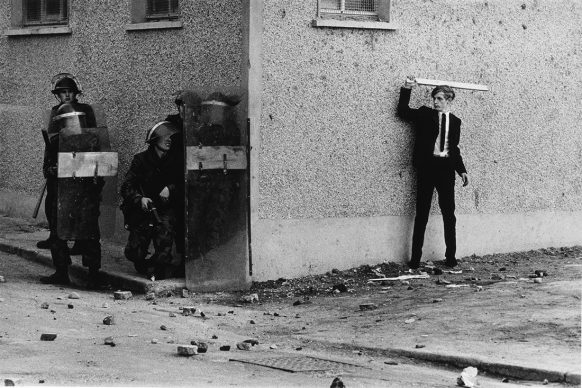 Don McCullin, Northern Ireland, The Bogside, Londonderry, 1971. All images courtesy of Don McCullin