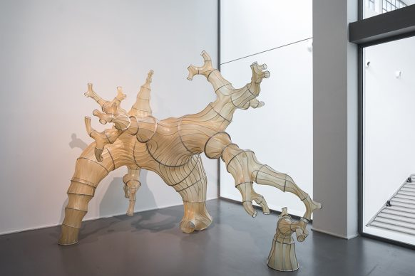 XXII Triennale di Milano, Broken Nature - Oki Naganode, Julia Lohmann. 2013 © La Triennale di Milano - foto Gianluca Di Ioia