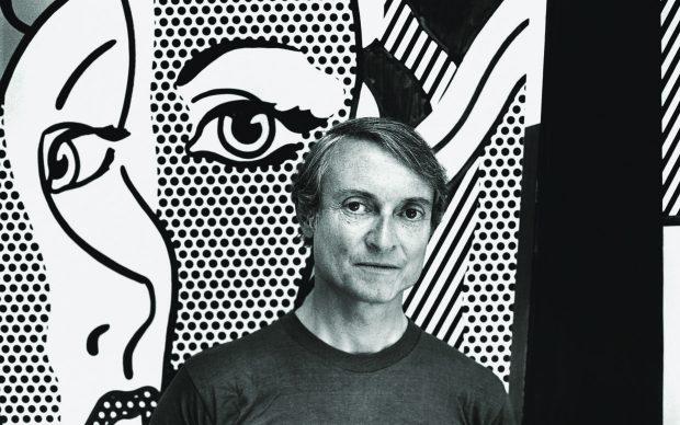 Roy Lichtenstein (1923 – 1997) Maler Foto: François Meyer, 1977 in Southampton