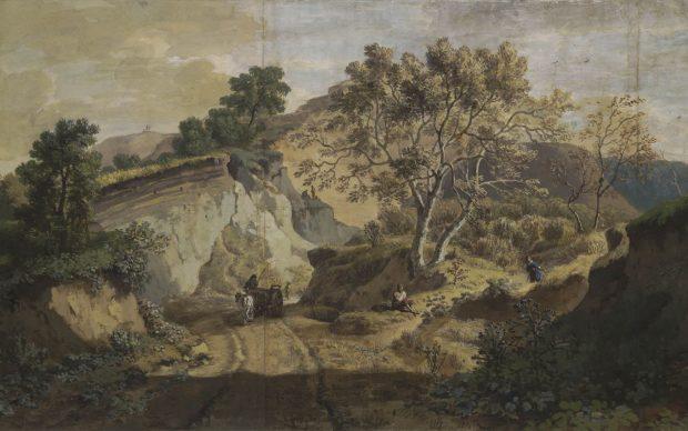 William Taverner, Untitled - View near a sandpit at Woolwich, 1703-1722, © Trustees of the British Museum