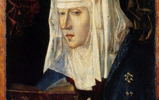 attr Antonello da Messina, Vergine leggente, Museo Poldi Pezzoli Milano