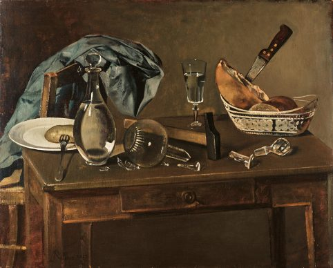 Balthus, Still Life, 1937. The Ella Gallup Sumner and Mary Catlin Sumner Collection Fund, 1938.272 Wadsworth Atheneum Museum of Art, Hartford. © Balthus, 2019