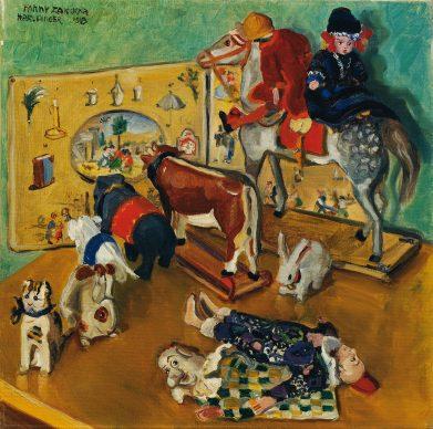 Fanny Harlfinger-Zakucka, Toys, 1918 © Belvedere, Vienna