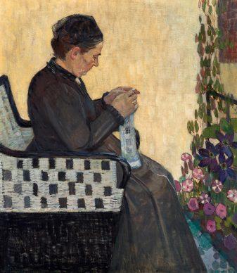 Broncia Koller-Pinell, The Artist's Mother, 1907. Photo: Johannes Stoll © Belvedere, Vienna