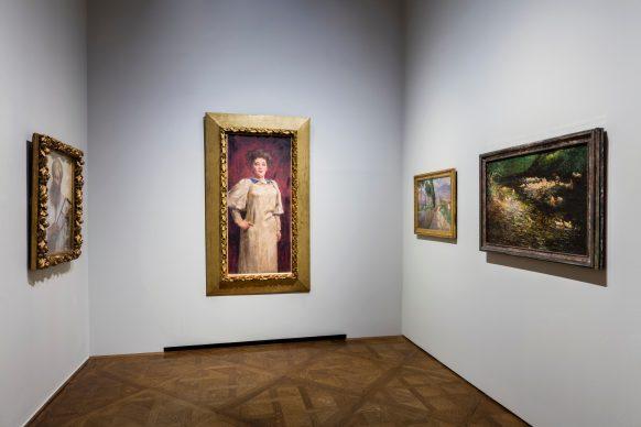 Exhibition View, CITY OF WOMEN. Photo: Johannes Stoll, © Belvedere, Vienna