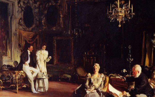 John Singer Sargent (Florence 1856-1925 Londres) An Interior in Venice   Un intérieur à Venise, 1899 huile sur toile, 66 x 83,5 cm Royal Academy of Arts, London