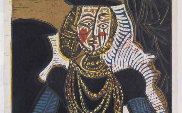 Pablo Picasso, Buste de Femme d'apres Cranach Le Jeune, Collectie Boijmans