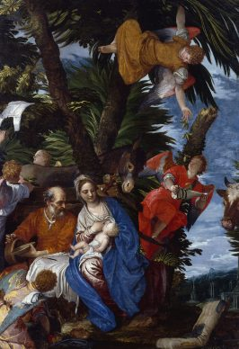 Paolo Veronese, Rest on the Flight into Egypt, c. 1572. Oil on canvas, 236,2 x 161,3 cm, Bequest of John Ringling, 1936, © Collection of The John and Mable Ringling Museum of Art, Sarasota, FL, the State Art Museum of Florida, Florida State University
