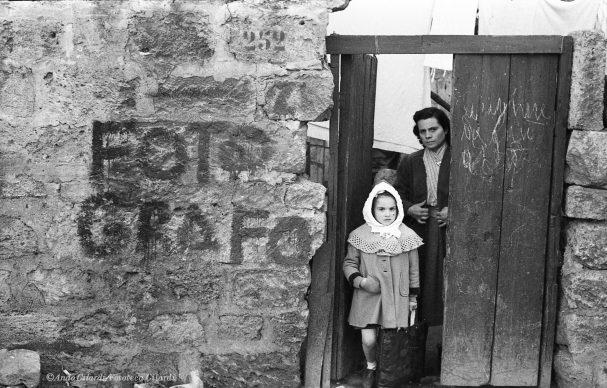Ando Gilardi, Fotografo, Palermo, 1957 © Ando Gilardi/Fototeca Gilardi