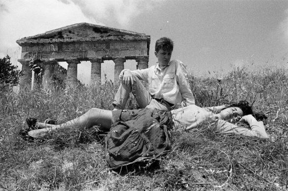 Letizia Battaglia, Il Tempio di Segesta, 1986 © Letizia Battaglia