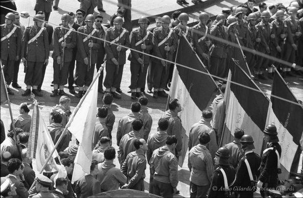 Ando Gilardi, Serie 100 GIORNI, Genova, 1955 © Ando Gilardi/Fototeca Gilardi