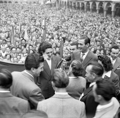 Ando Gilardi, Giuseppe di Vittorio, Pavia 1953 © Ando Gilardi/Fototeca Gilardi