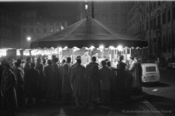 Ando Gilardi, Serie FIERA, Roma, 1956 © Ando Gilardi/Fototeca Gilardi