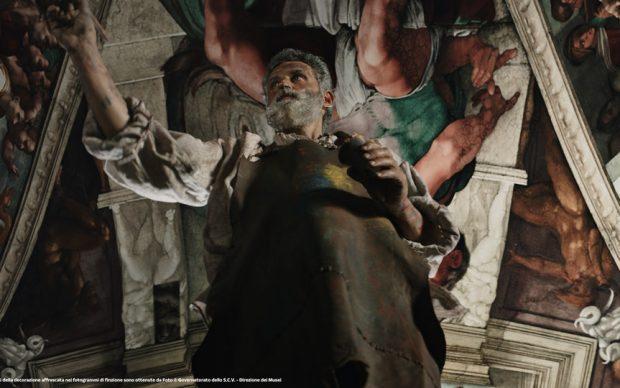 Una scena di Michelangelo Infinito
