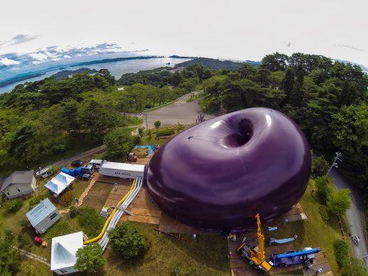 LUCERNE FESTIVAL ARK NOVA (designed by Anish Kapoor and Arata Isozaki) - Photo courtesy of Iwan Baan, Matsushima