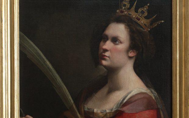 Artemisia Gentileschi, S. Caterina d'Alessandria, 1615 ca